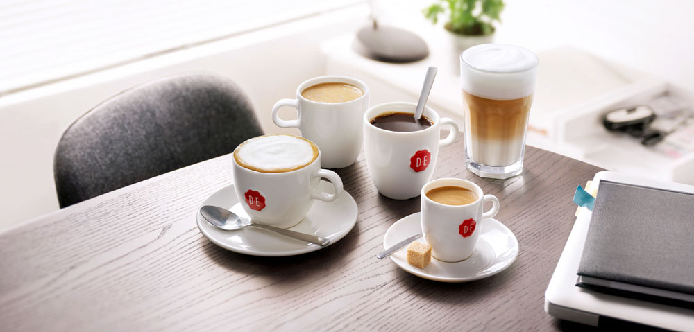 Drinks photography of cups of coffee made by Studio_m Photography Amsterdam