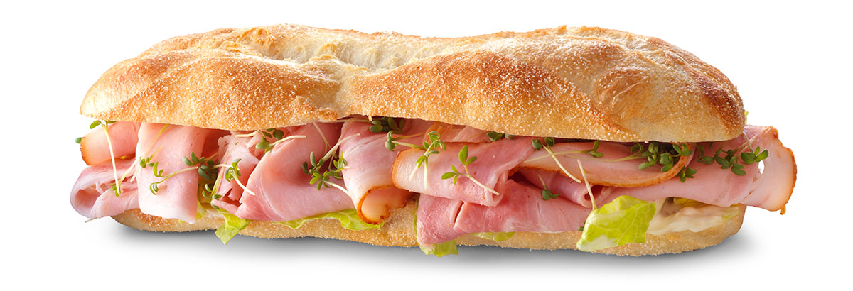 Packshots photography of grilled ham sandwich made by Studio_m Photography Amsterdam