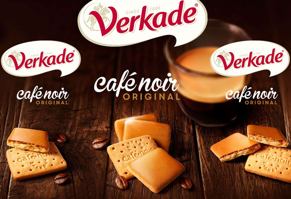 Packaging photography of Verkade's cafe Noir made by Studio_m Photography Amsterdam