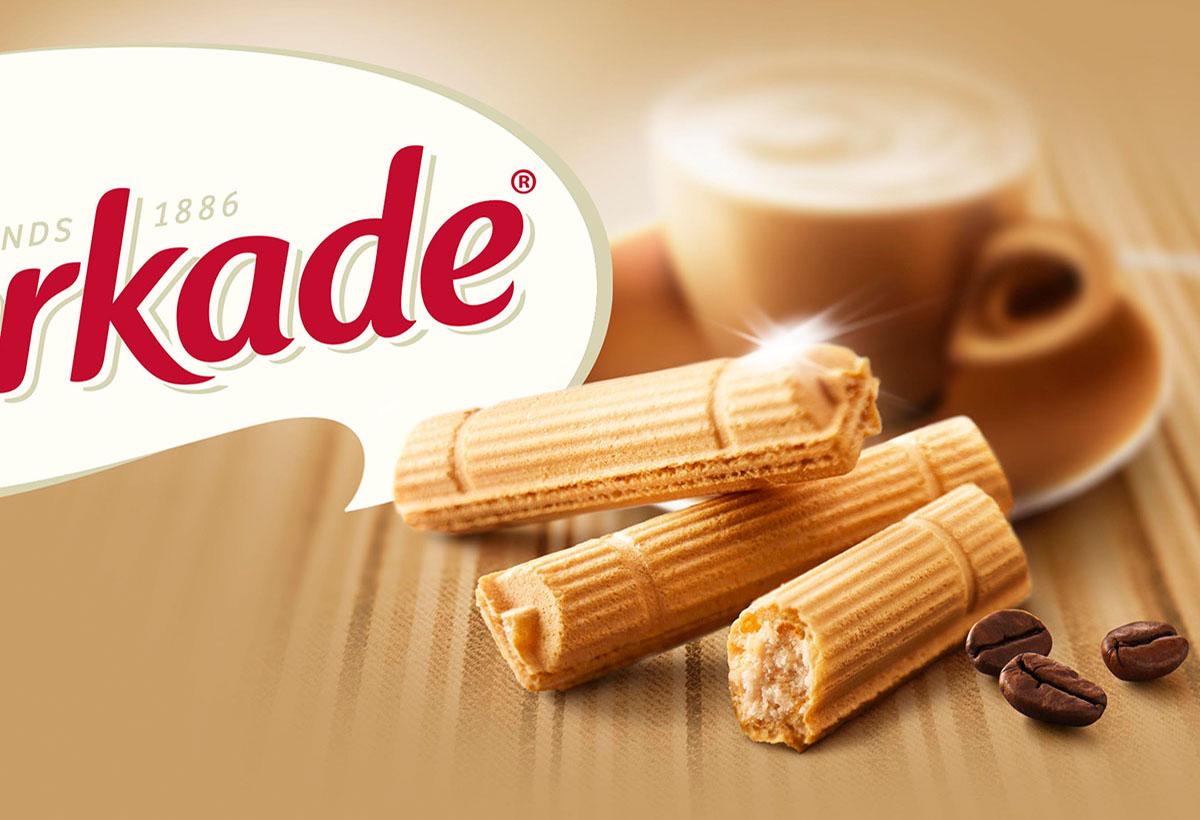 Packaging photography of Verkade's mokka sticks made by Studio_m Photography Amsterdam