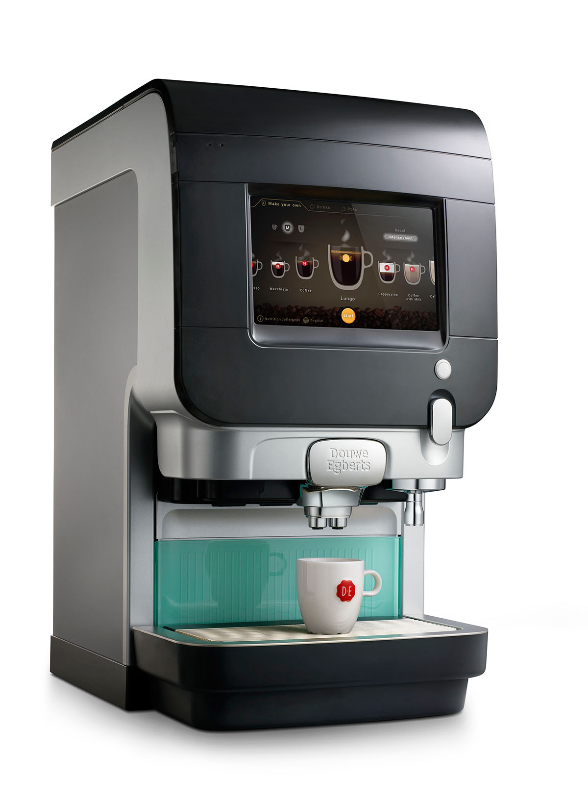 Packshots photography of DE's coffee machine made by Studio_m Photography Amsterdam