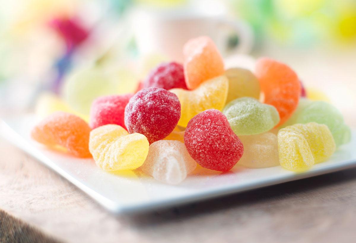 Food styling fotografie van zomerfruit snoepjes gemaakt door Studio_m Fotografie Amsterdam
