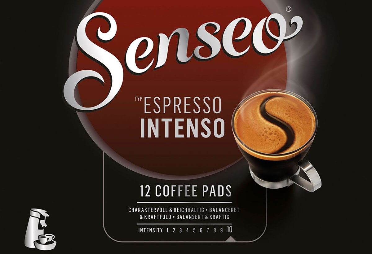Packaging photography of Senseo Coffee Espresso Intenso made by Studio_m Photography Amsterdam