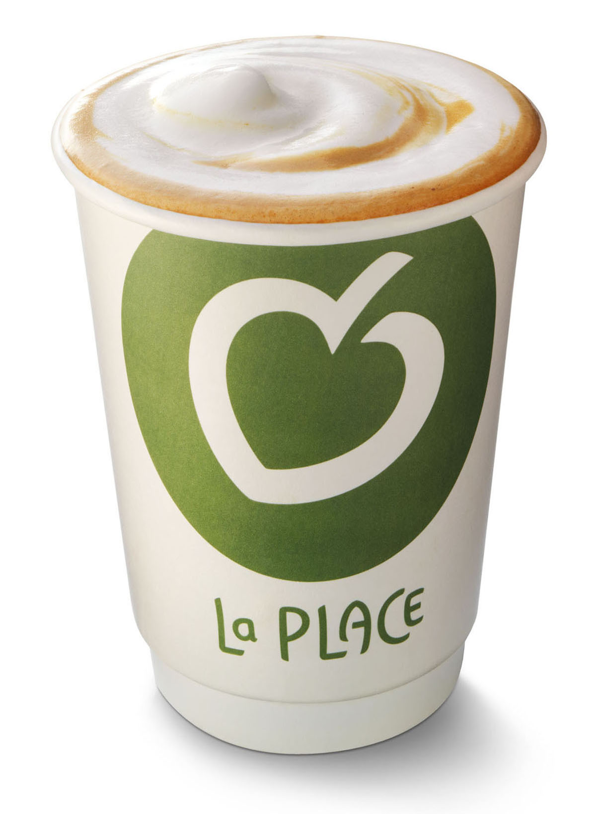 Packshots stylist photography of La Place's cappuccino made by Studio_m Photographer Amsterdam