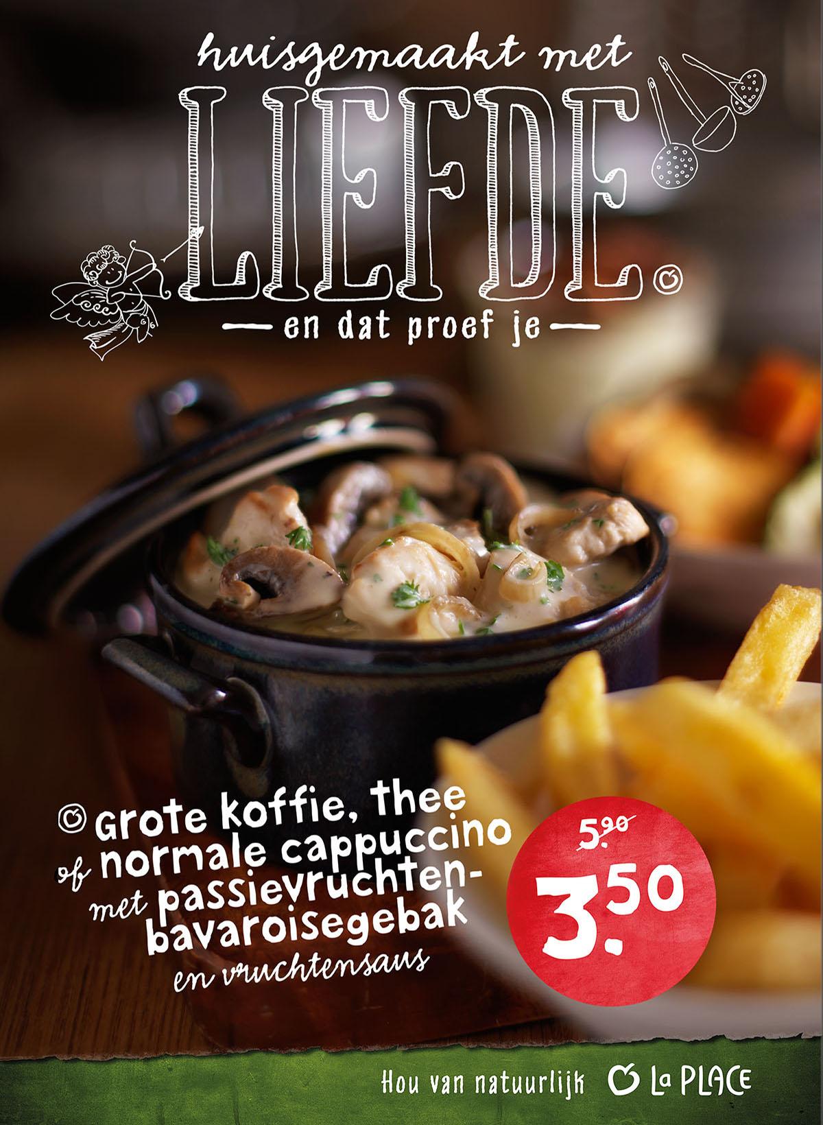 Food styling fotografie van een stoofpot met frietjes gemaakt door Studio_m Fotografie Amsterdam