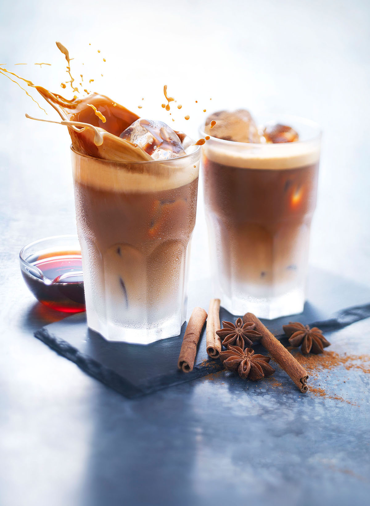 Drinks photography of DE's Ice Coffee made by Studio_m Photography Amsterdam