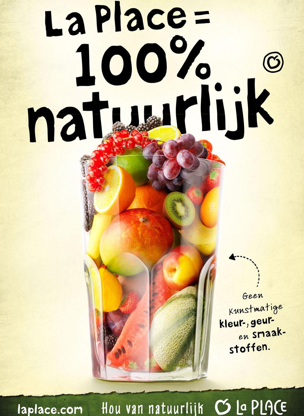 Food styling fotografie van een glas met verschillende soorten fruit gemaakt door Studio_m Fotografie Amsterdam