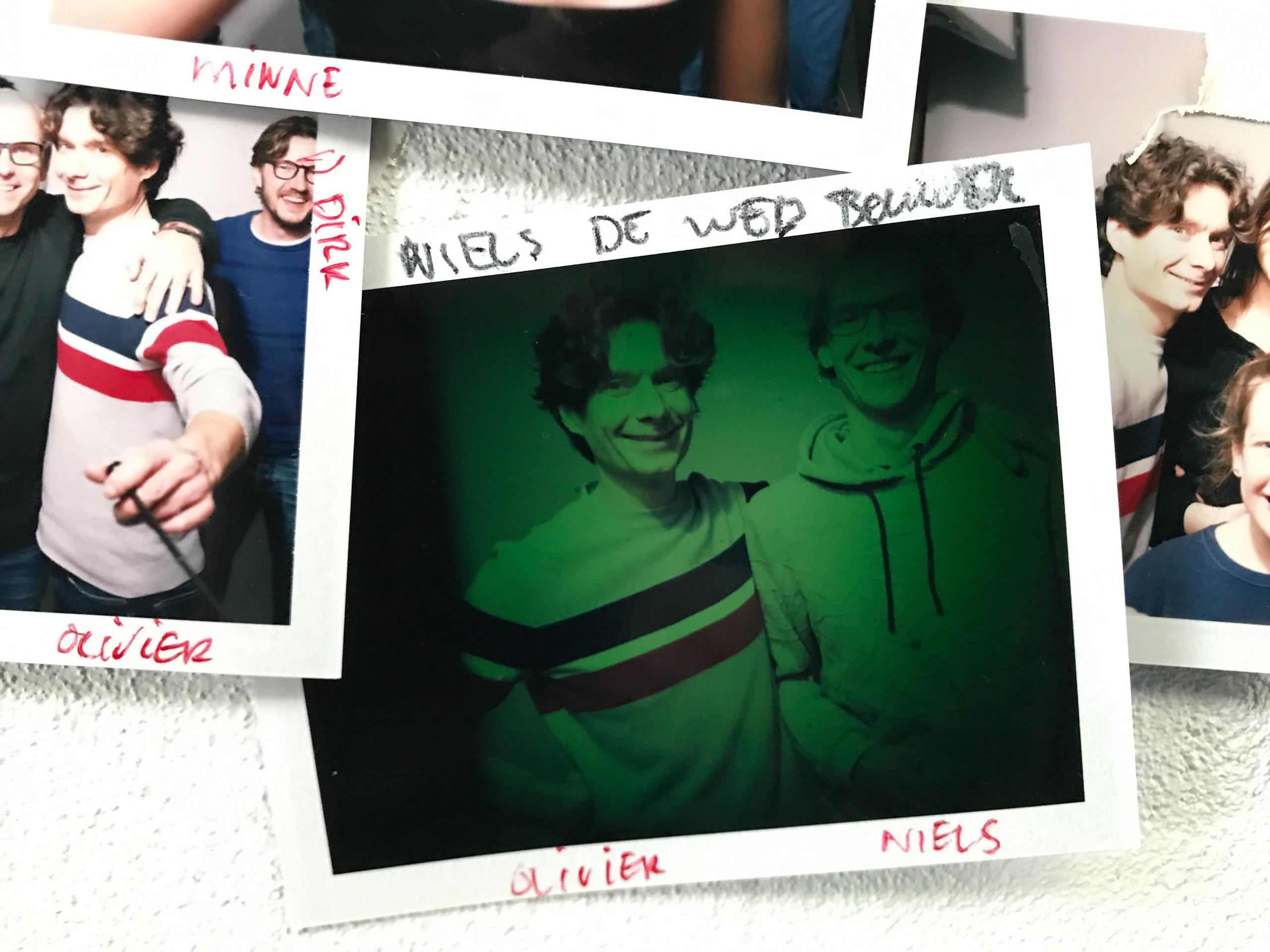 Food stylist fotograaf met Olivier en Niels gemaakt door Studio_m Fotograaf Amsterdam