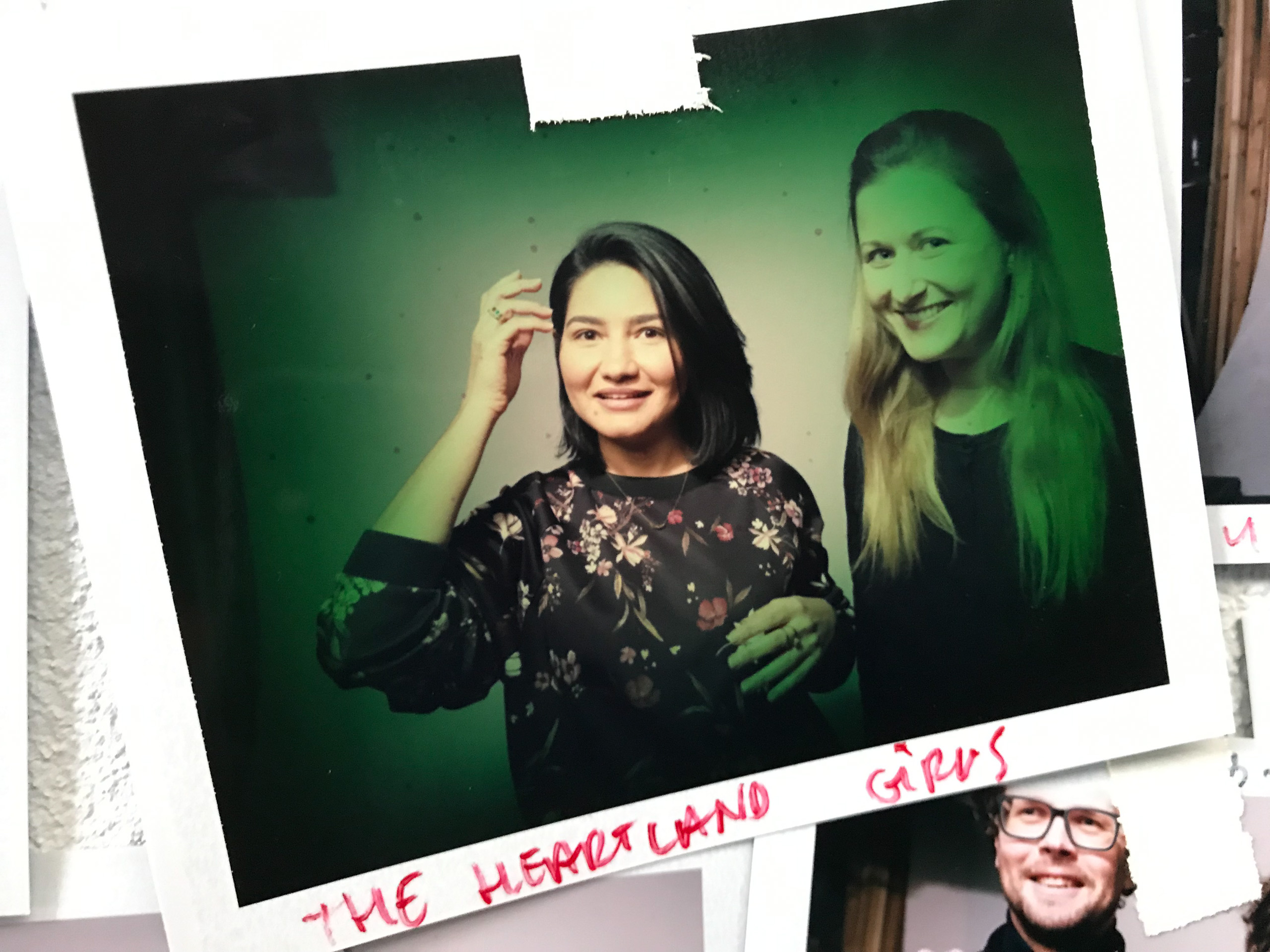 Food stylist fotografie van twee dames gemaakt door Studio_m Fotograaf Amsterdam
