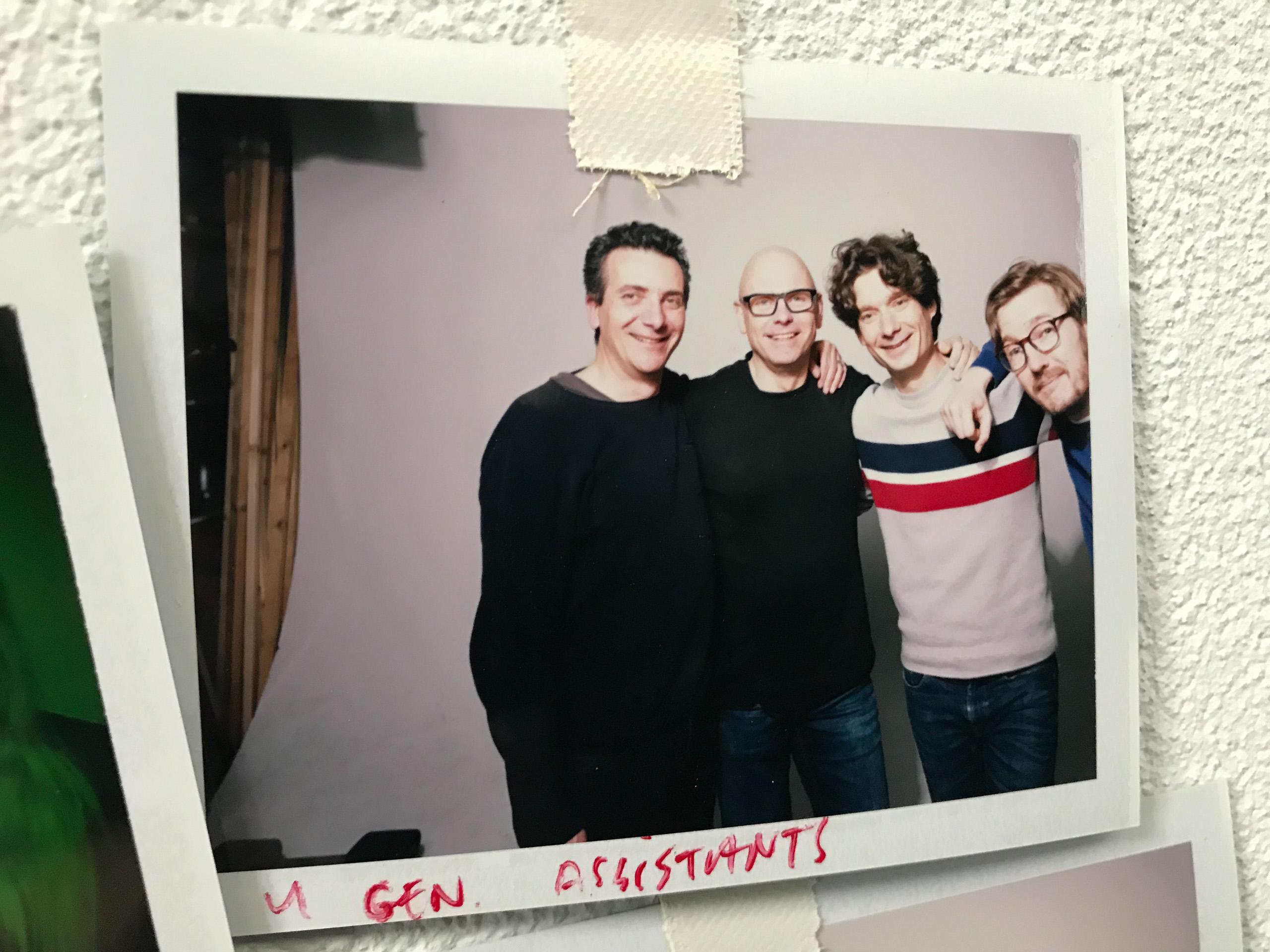 Food stylist fotografie van Olivier met de drie assistenten gemaakt door Studio_m Fotograaf Amsterdam