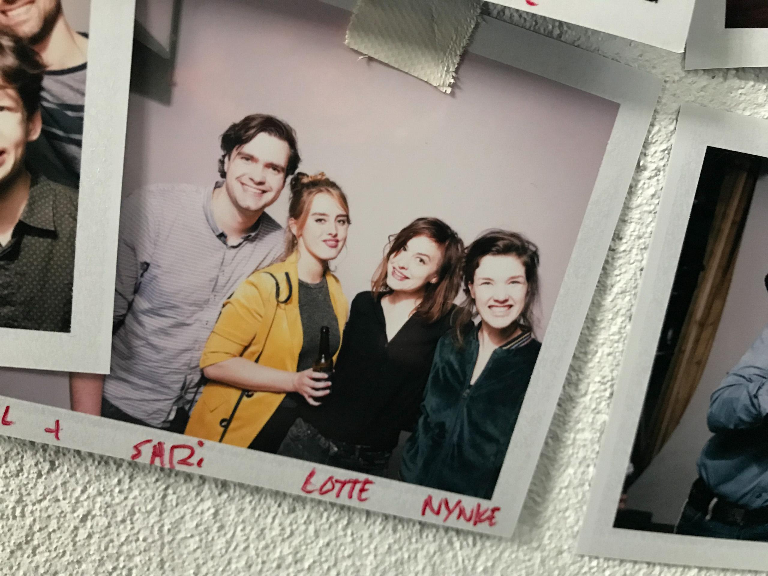 Food stylist fotograaf van een groepsfoto inclusief Sari, Lotte en Nynke gemaakt door Studio_m Fotograaf Amsterdam