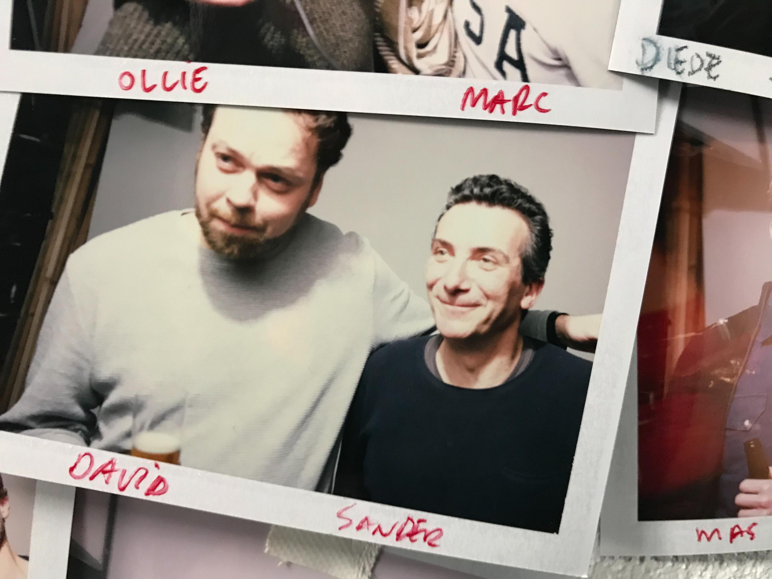 Food stylist fotografen met David en Sander gemaakt door Studio_m Fotograaf Amsterdam