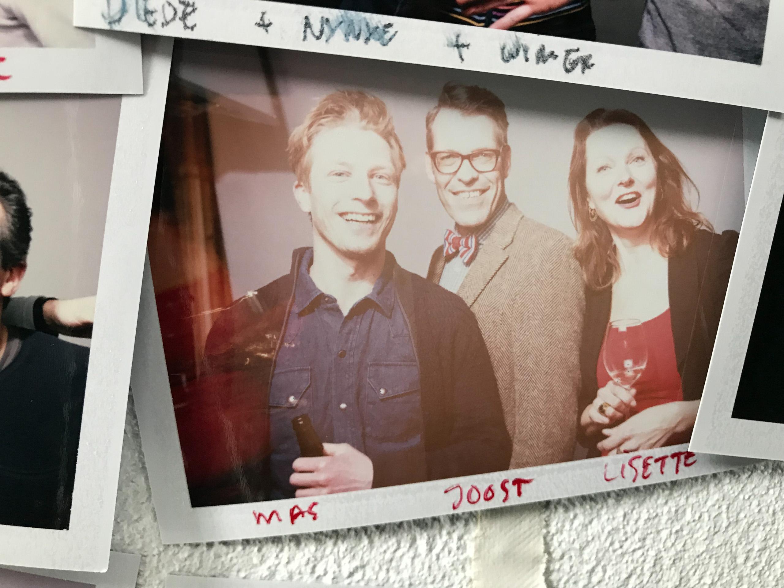 Food stylist fotograaf van een groepsfoto inclusief Joost en Lisette gemaakt door Studio_m Fotograaf Amsterdam
