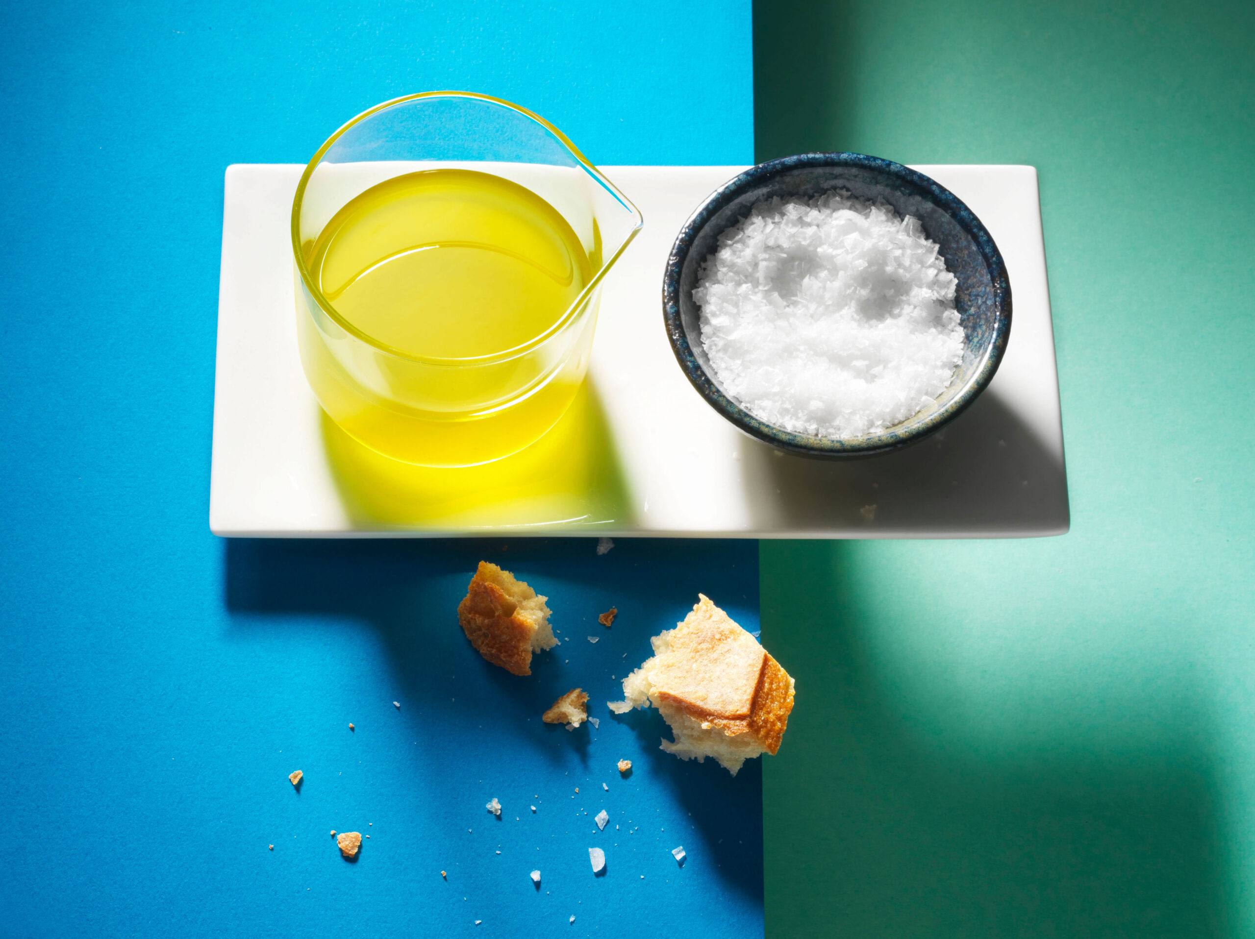 Creative food photo of SmartWhip recipe Basil Oil made by STUDIO_M Amsterdam