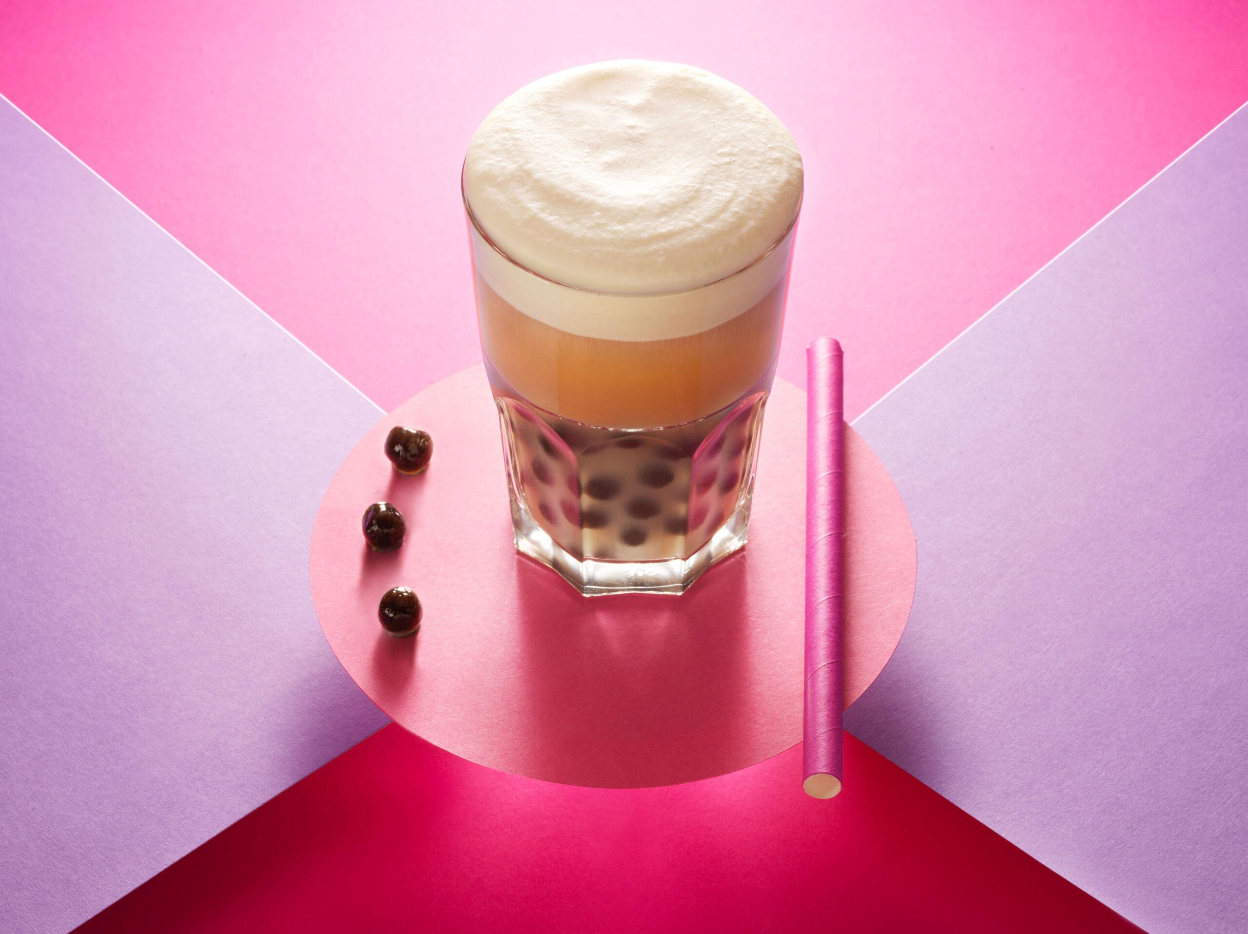 Creative food photo of SmartWhip recipe bubble tea made by STUDIO_M Amsterdam