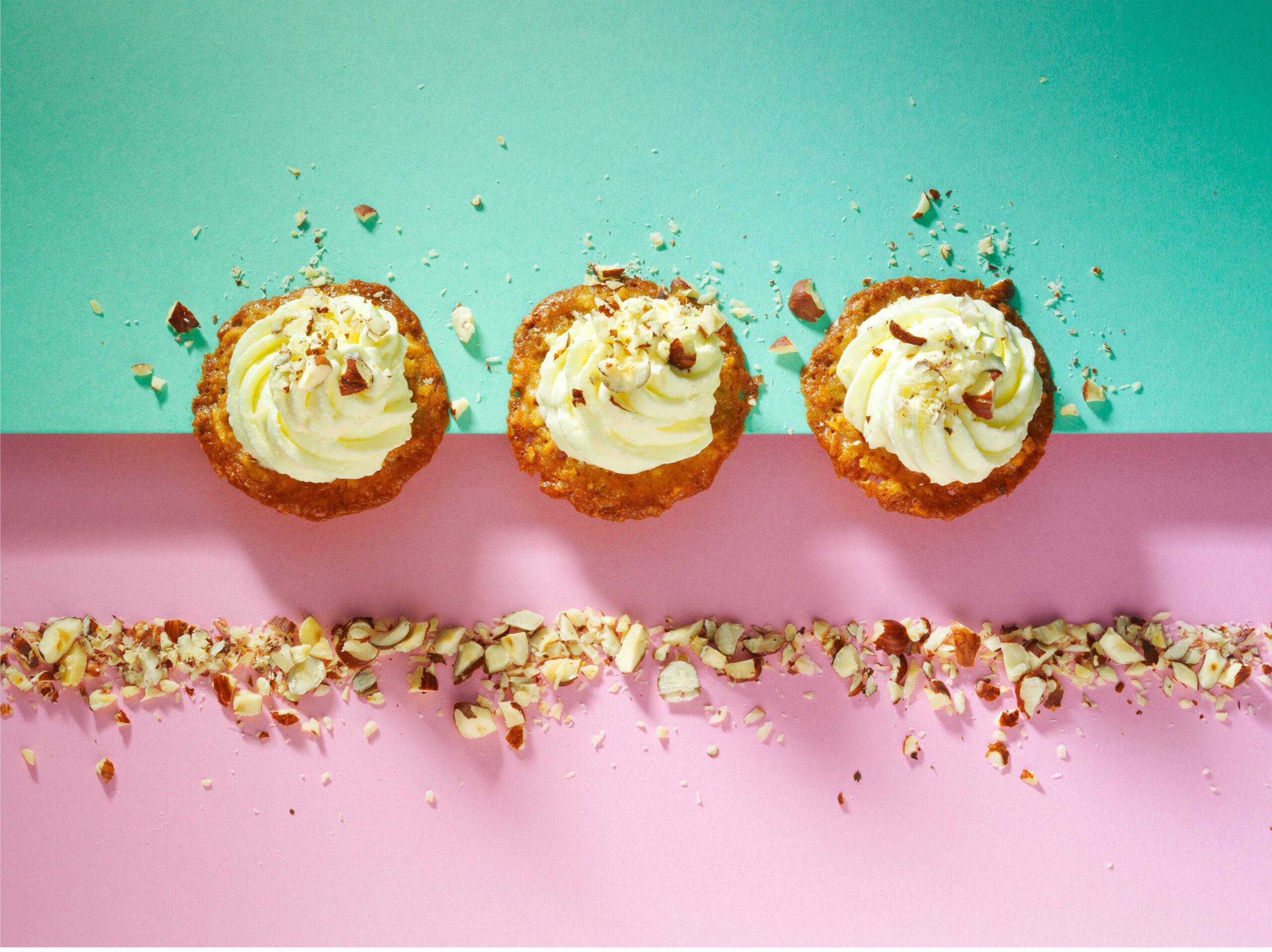 Creative food photo of SmartWhip recipe hazelnut whipped cream made by STUDIO_M Amsterdam